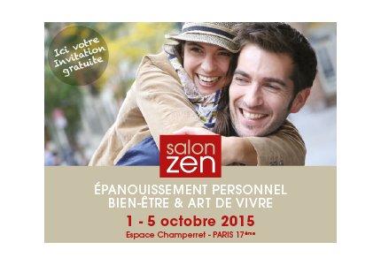 Salon zen 2015 communication therapeute for Salon zen champerret