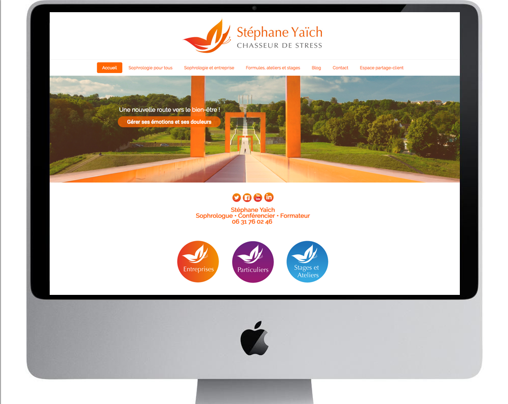 Stephane Yaich- chasseur de stress